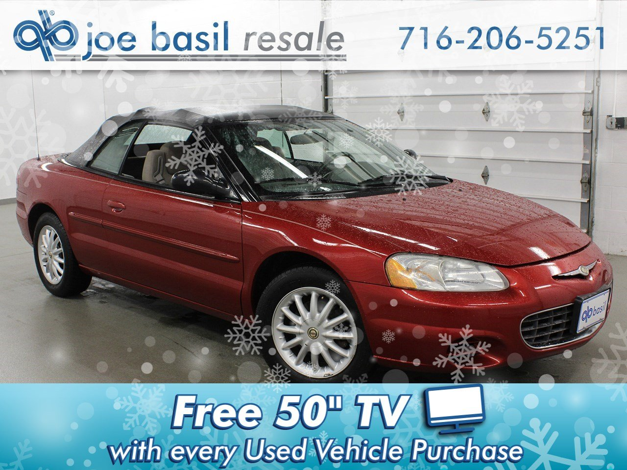 Pre-Owned 2003 Chrysler Sebring LX