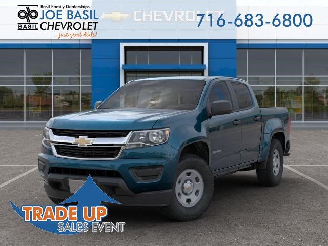 New 2019 Chevrolet Colorado 2WD Work Truck Crew Cab Pickup