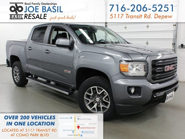 Pre-Owned 2019 GMC Canyon 4WD All Terrain w/Leather