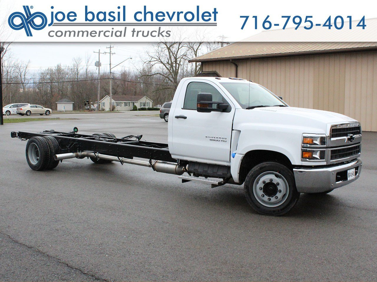 2bd32657a26f46 New 2019 Chevrolet Silverado MD Regular Cab Chassis-Cab in Depew ...
