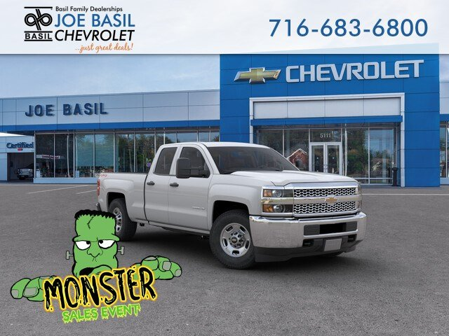 New 2019 Chevrolet Silverado 2500HD Work Truck Double Cab Pickup