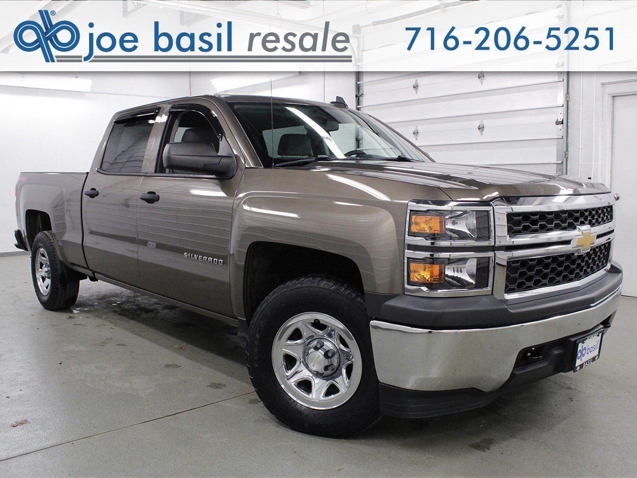 Pre Owned 2015 Chevrolet Silverado 1500 Crew Cab Pickup In Depew