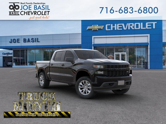 New 2019 Chevrolet Silverado 1500 Custom Crew Cab Pickup