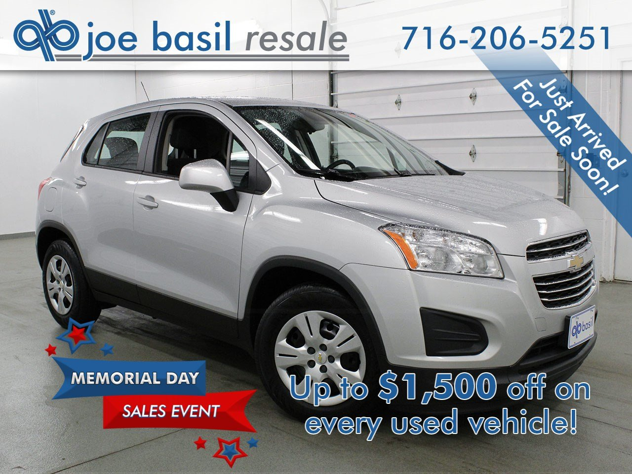 Pre Owned 2016 Chevrolet Trax Ls