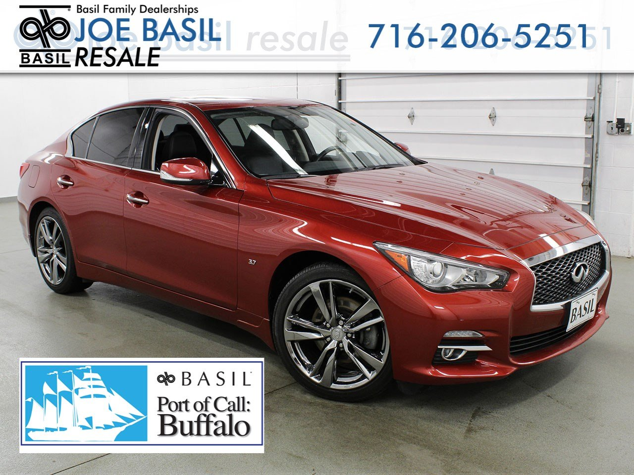 Basil Used Cars >> Pre Owned 2015 Infiniti Q50 Sport 4dr Car In Depew S4044 Joe