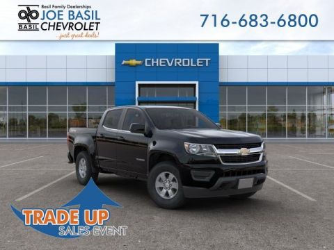 New 2019 Chevrolet Colorado 4WD Work Truck Crew Cab Pickup