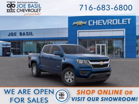 2020 Chevrolet Colorado 4WD Work Truck Crew Cab Pickup