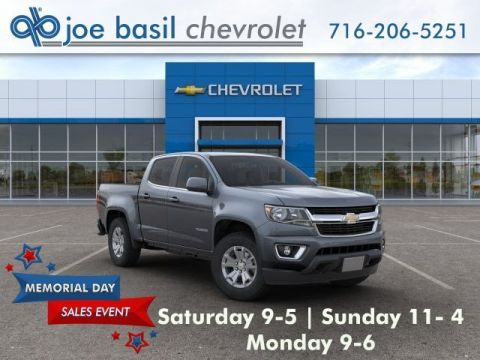New 2019 Chevrolet Colorado 4WD LT Crew Cab Pickup