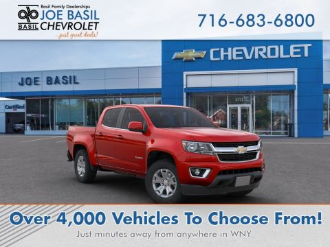 New 2020 Chevrolet Colorado 4WD LT Crew Cab Pickup 4WD