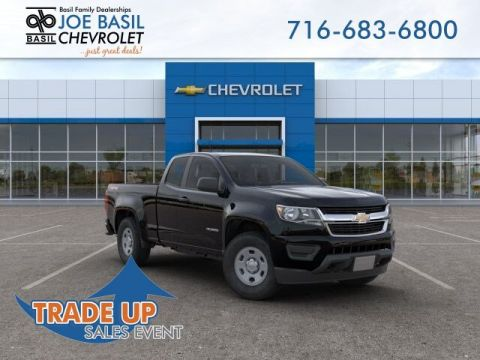 New 2019 Chevrolet Colorado 4WD Work Truck Double Cab Pickup
