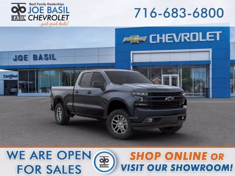New 2020 Chevrolet Silverado 1500 RST Double Cab Pickup