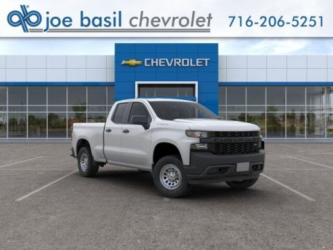 New 2019 Chevrolet Silverado 1500 Work Truck Double Cab Pickup