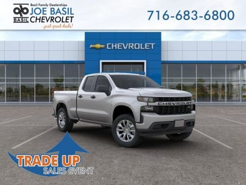 New 2019 Chevrolet Silverado 1500 Custom Double Cab Pickup