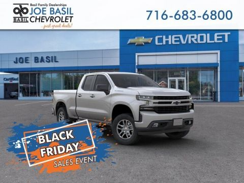 New 2019 Chevrolet Silverado 1500 RST Double Cab Pickup