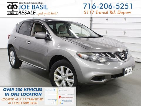 Pre-Owned 2012 Nissan Murano S AWD